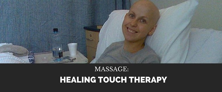 healing touch massage therapy - banner