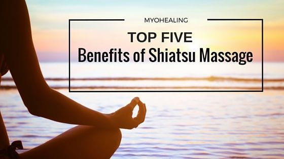 benefits of shiatsu massage - banner