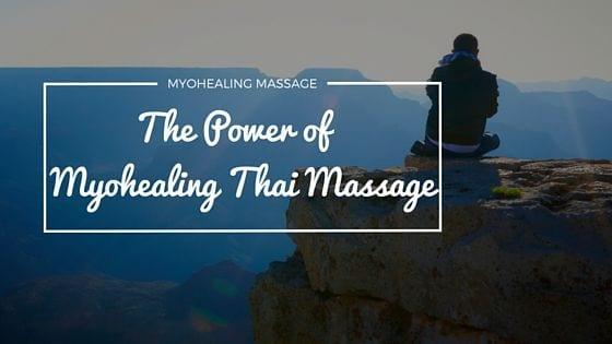 healing power of thai massage - banner
