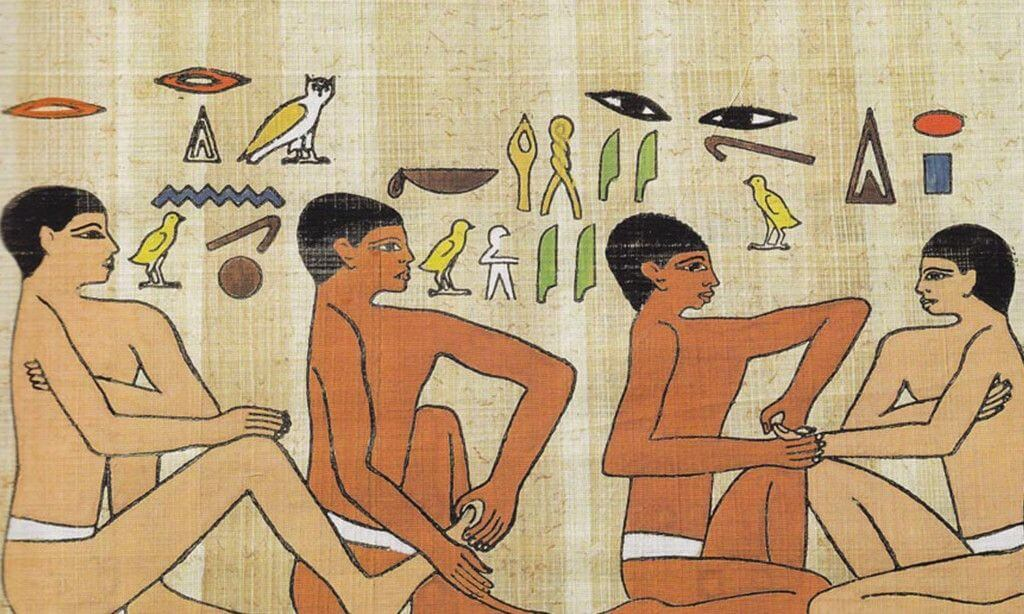 fun facts about massage - massage history dates back thousands of years ago
