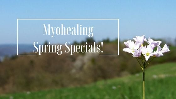 spring massage special ideas - banner