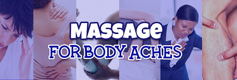 massage for body aches - banner
