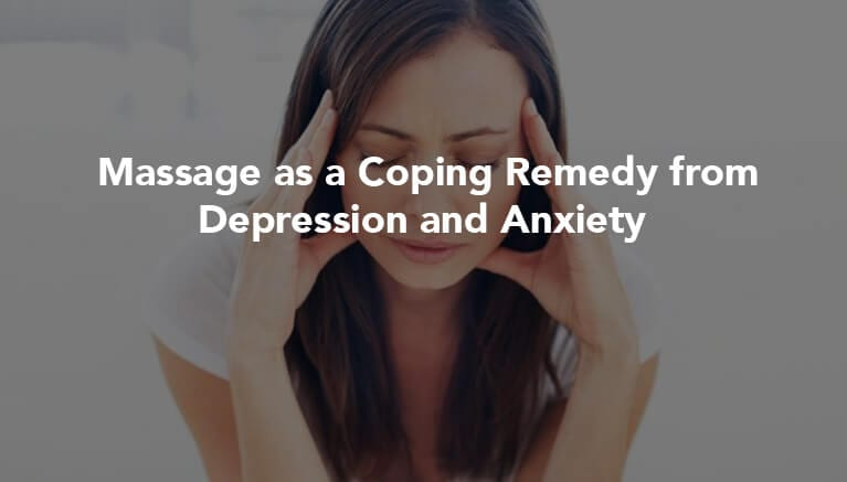 Cure From Depression And Anxiety Banner Myotherapy Healing Massage