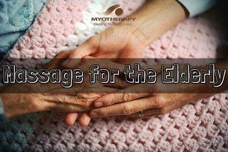 massage for the elderly - banner