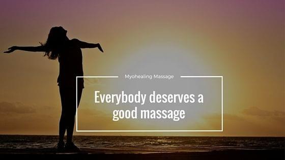 Everybody deserves a good massage