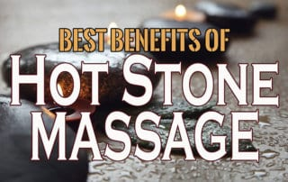 benefits of hot stone massage - banner
