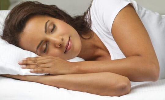 benefits of hot stone massage - develop sleep