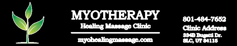 Myotherapy Healing Massage Logo