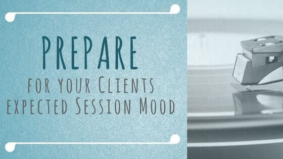 prepare clients, massage, client, massage session