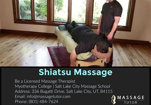 Learn Shiatsu Massage Onlne Tutor Videos