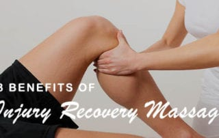 3 Benefits of Injury Recovery Massage