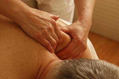 lymphatic drainage massage adjust