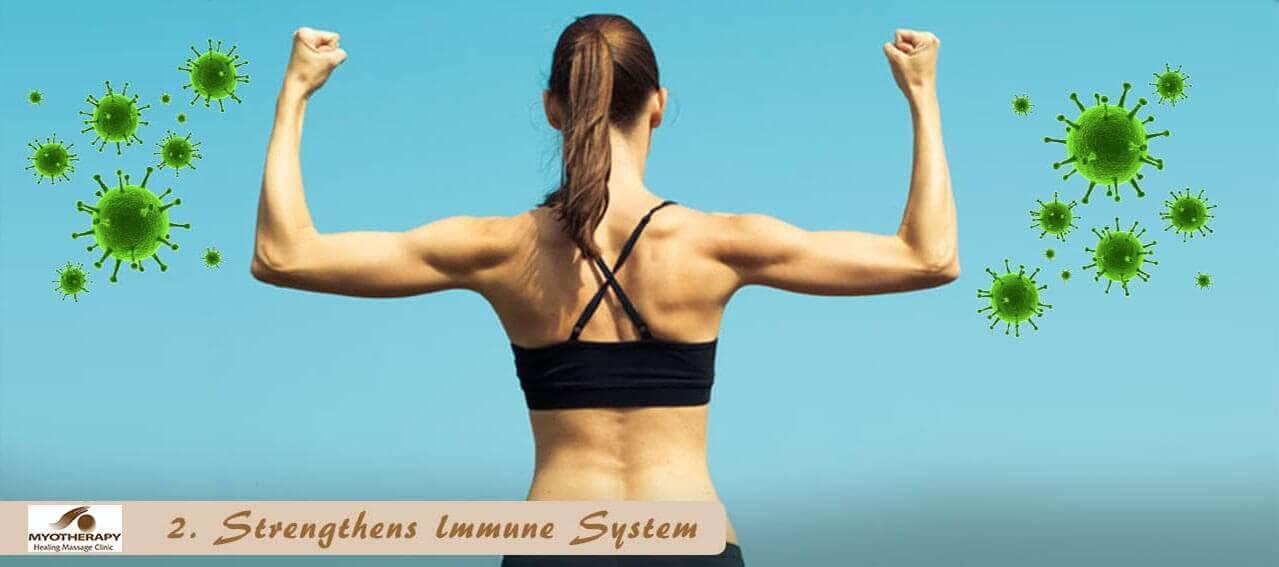 Strengthens immune system